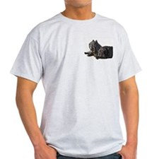 Neapolitan Mastiff Ash Grey T-Shirt