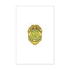Vermont State Police Mini Poster Print