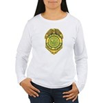 Vermont State Police Women's Long Sleeve T-Shirt