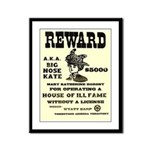 Big Nose Kate Framed Panel Print