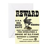 Big Nose Kate Greeting Cards (Pk of 10)