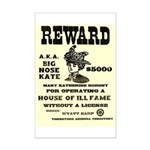 Big Nose Kate Mini Poster Print