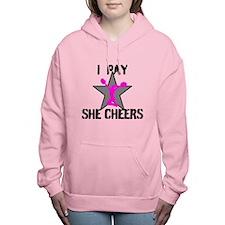 I Pay She Cheers Women's Hooded Sweatshirt