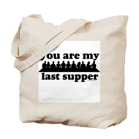 last supper Tote Bag