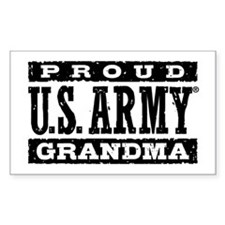 Proud U.S. Army Grandma Decal