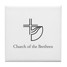 Church of the Brethren Tile Coaster