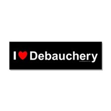 Debauchery Car Magnet 10 x 3