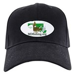 Black MDfishing.org Cap