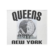 queens.jpg Throw Blanket