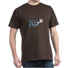 Volleyball Killshot Colorful Graphic T-Shirt