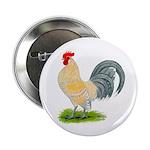 Porcelain Dutch Cock Button