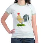 Porcelain Dutch Cock Jr. Ringer T-Shirt