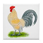 Porcelain Dutch Cock Tile Coaster