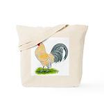 Porcelain Dutch Cock Tote Bag