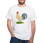 Porcelain Dutch Cock White T-Shirt