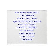 Unique Quantum physics Throw Blanket