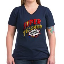 Teacher Super Hero Shirt