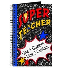 Teacher Super Hero Journal