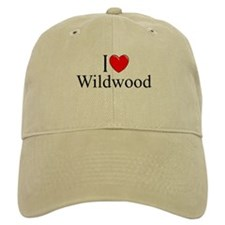 """I Love Wildwood"" Baseball Cap"