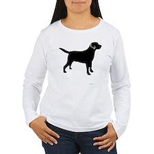 BlkMakeMineTrans Long Sleeve T-Shirt