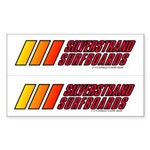 Silverstrand Surf 2-4-1 Rectangle Sticker
