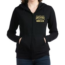 Awesome Since 1971 Women's Zip Hoodie