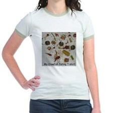 Crawfish Eating T-shirt T