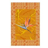 Gold Bird of Paradise Postcards