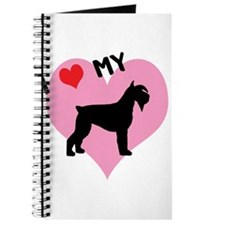 I Heart My Schnauzer Journal