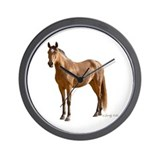 Lone Horse-- Wall Clock