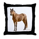 Lone Horse-- Throw Pillow