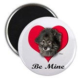 "Keeshound Valentine 2.25"" Magnet (10 pack)"