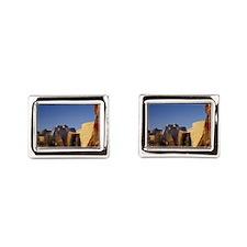 Guggenheim Museum. Designed  Rectangular Cufflinks