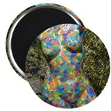 "Art...Bit By Bit Mannequin Art 2.25"" Magnet (10 pa"