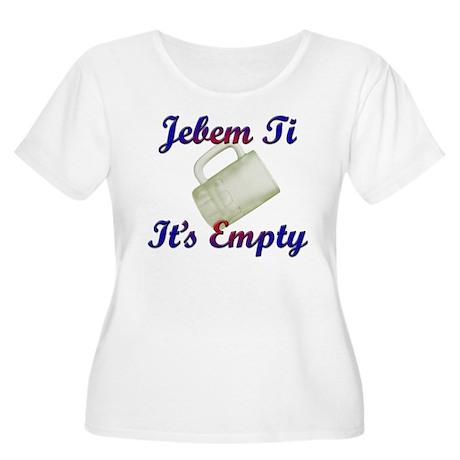 croatian Women's Plus Size Scoop Neck T-Shirt
