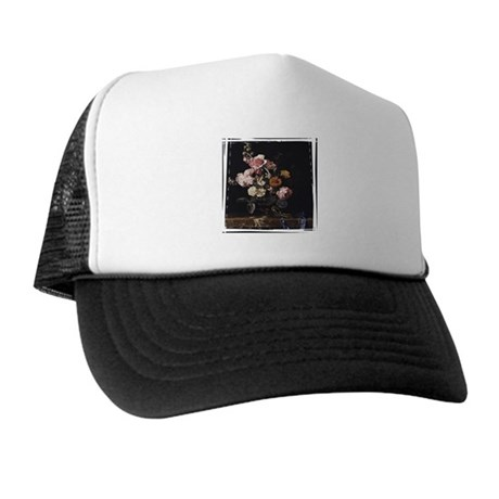 Floral Still Life Trucker Hat