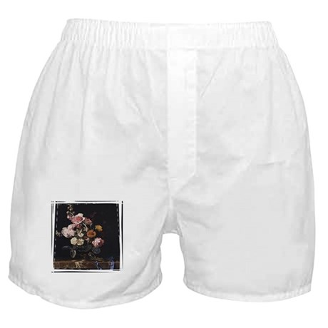 Floral Still Life Boxer Shorts