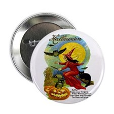 Halloween Witching Hour Button