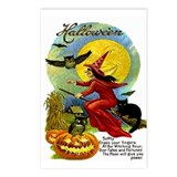 Halloween Witching Hour Postcards (Package of 8)