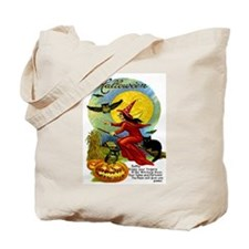 Halloween Witching Hour Tote Bag