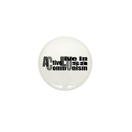 Anti-ACLU Mini Button