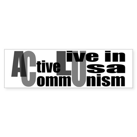 Anti-ACLU Bumper Sticker