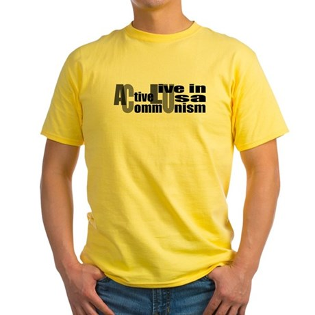 Anti-ACLU Yellow T-Shirt