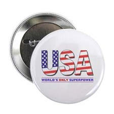 "USA Superpower 2.25"" Button (100 pack)"