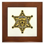 Utah Highway Patrol Framed Tile