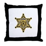 Utah Highway Patrol Throw Pillow