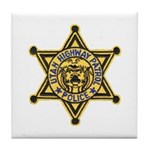 Utah Highway Patrol Tile Coaster