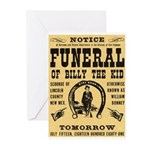 Billy's Funeral Greeting Cards (Pk of 10)