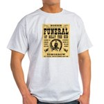 Billy's Funeral Light T-Shirt