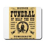 Billy's Funeral Mousepad